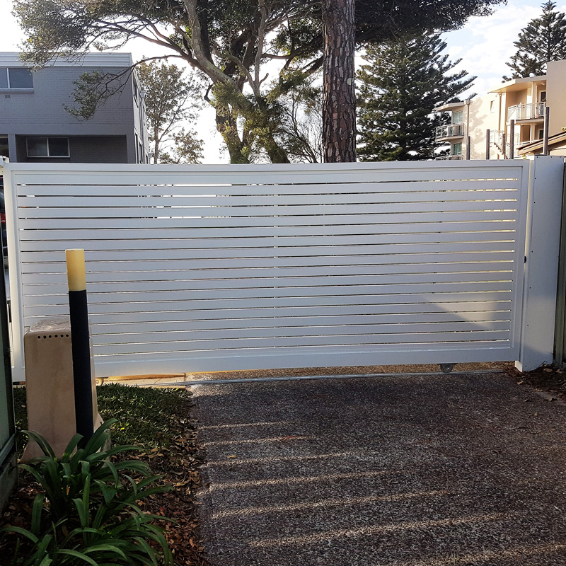 slat fencing contractors in newcastle