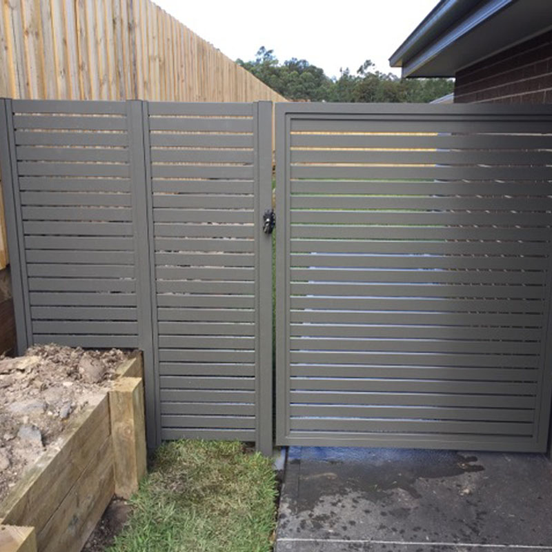 slat fence providers newcastle